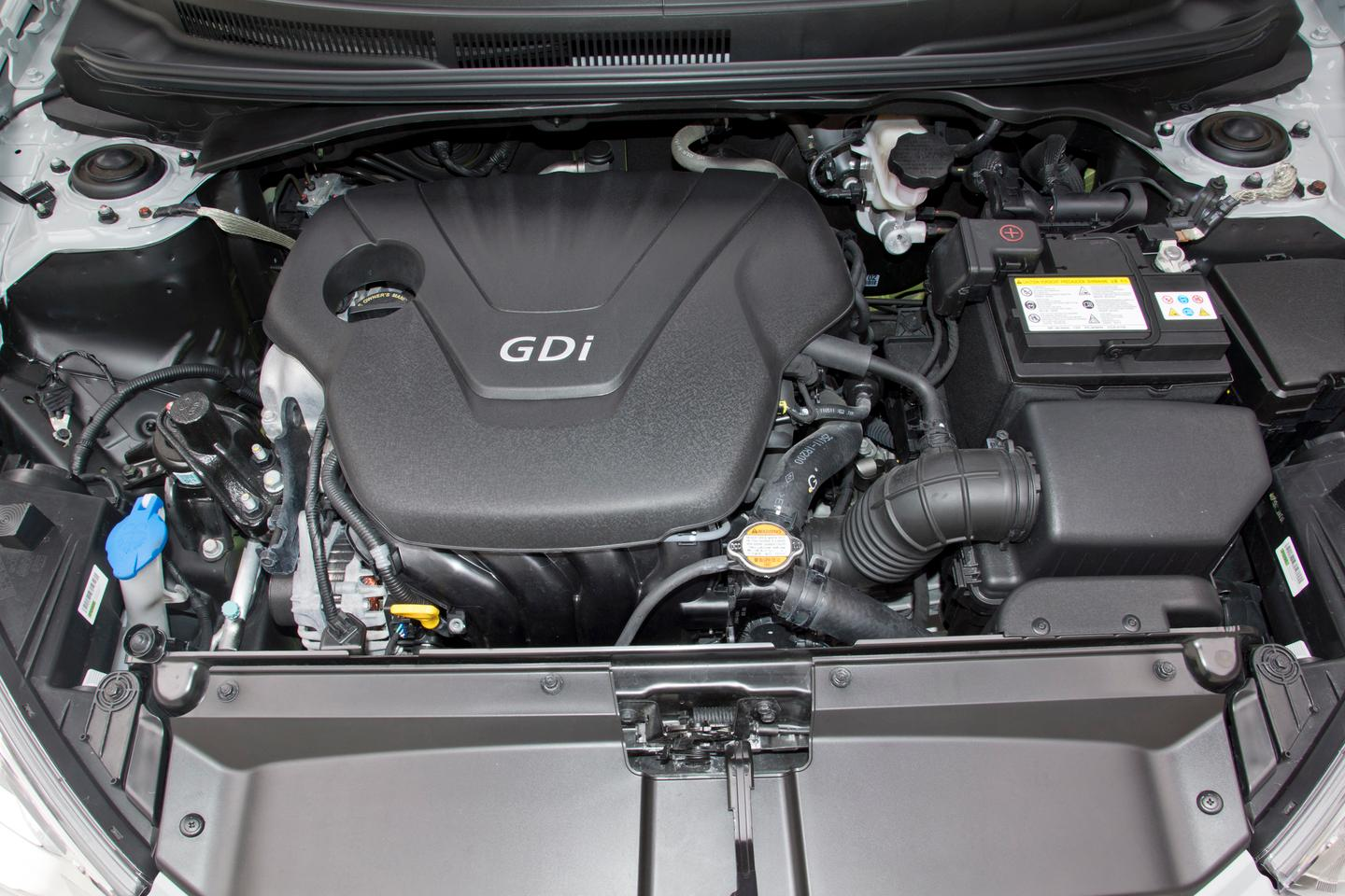 The Veloster RE:MIX 1.6-liter engine