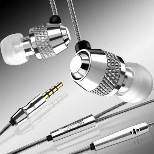 V-MODA's noise isolating Vibe Duo headset