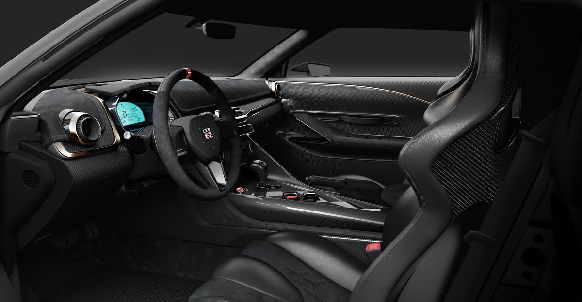 Inside, the interior gets sported up with Alcantara/leather seats, a bespoke steering wheel, carbon fiber and more