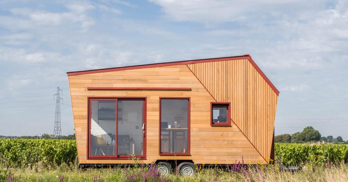 Compact French tiny house goes big on light and views