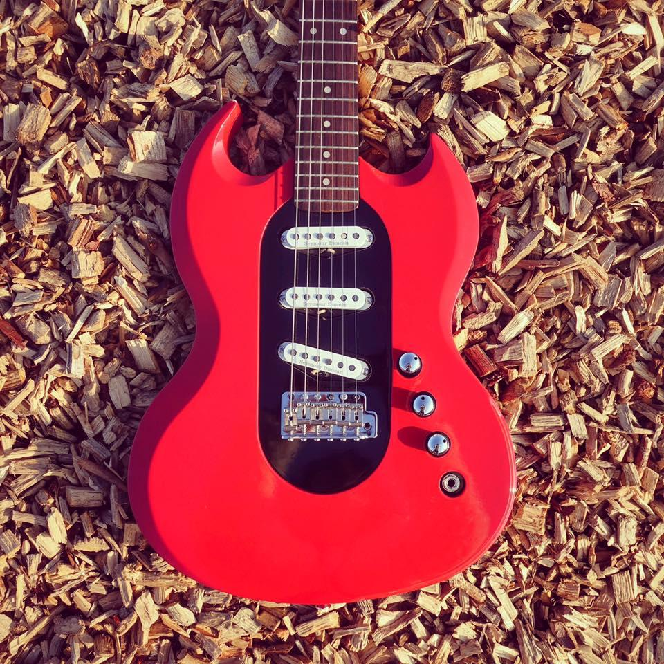 Fancy an SG shape with Strat-like single coil pickups? The Pons Revolution has you covered
