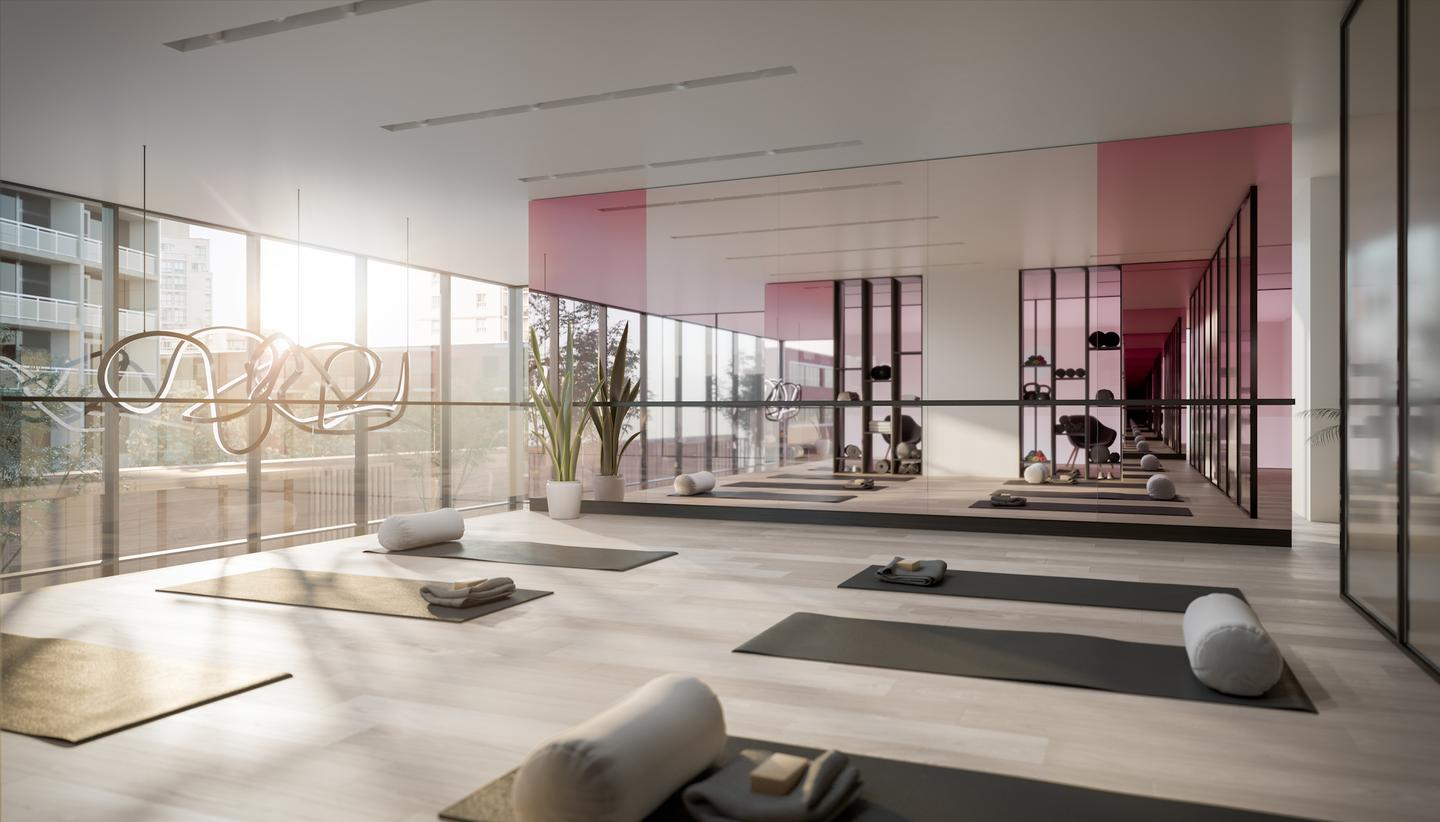 untitled's planned amenities include a fitness center