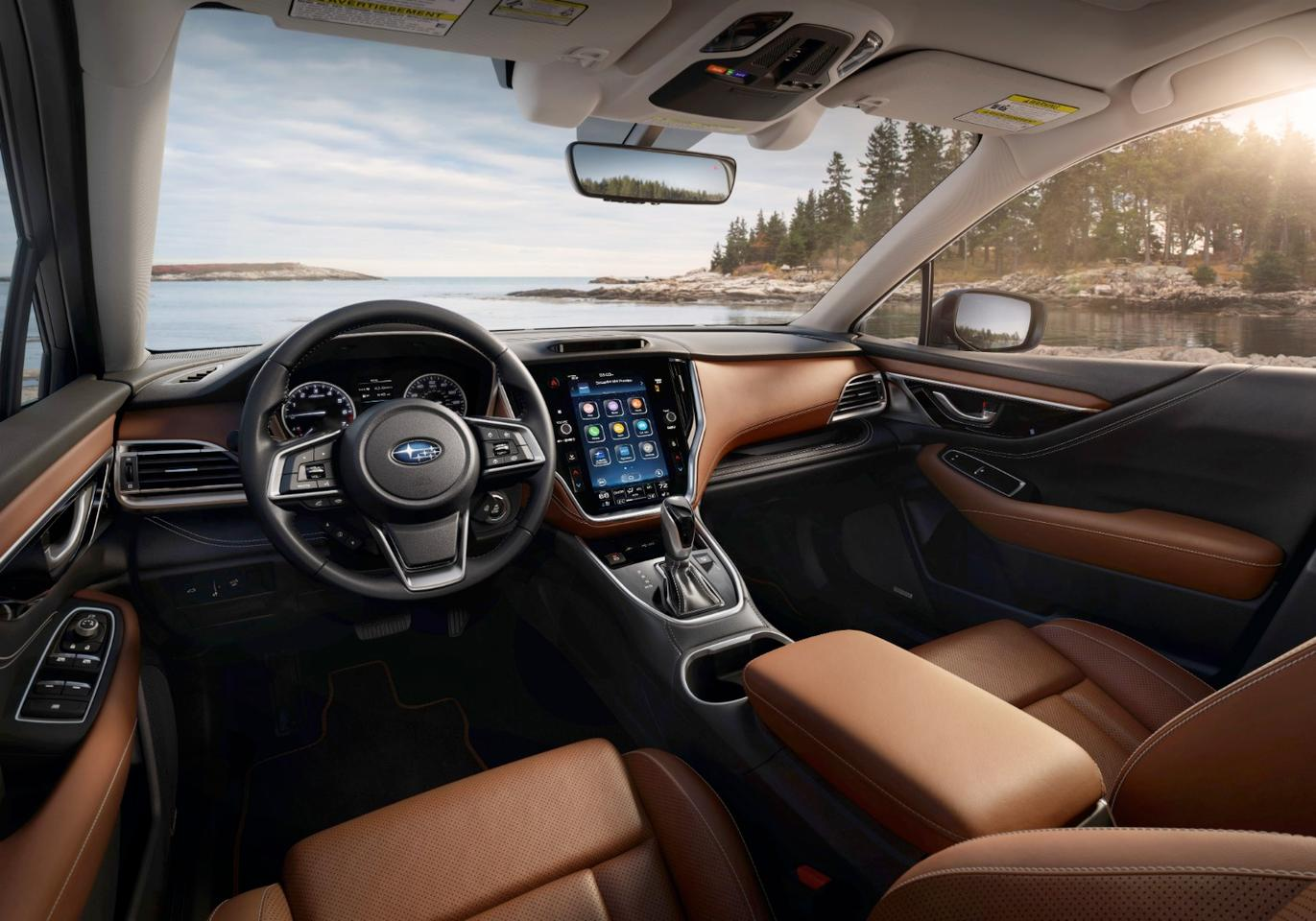 Subaru adds a new 11.6-in infotainment display standard across all models but the Base
