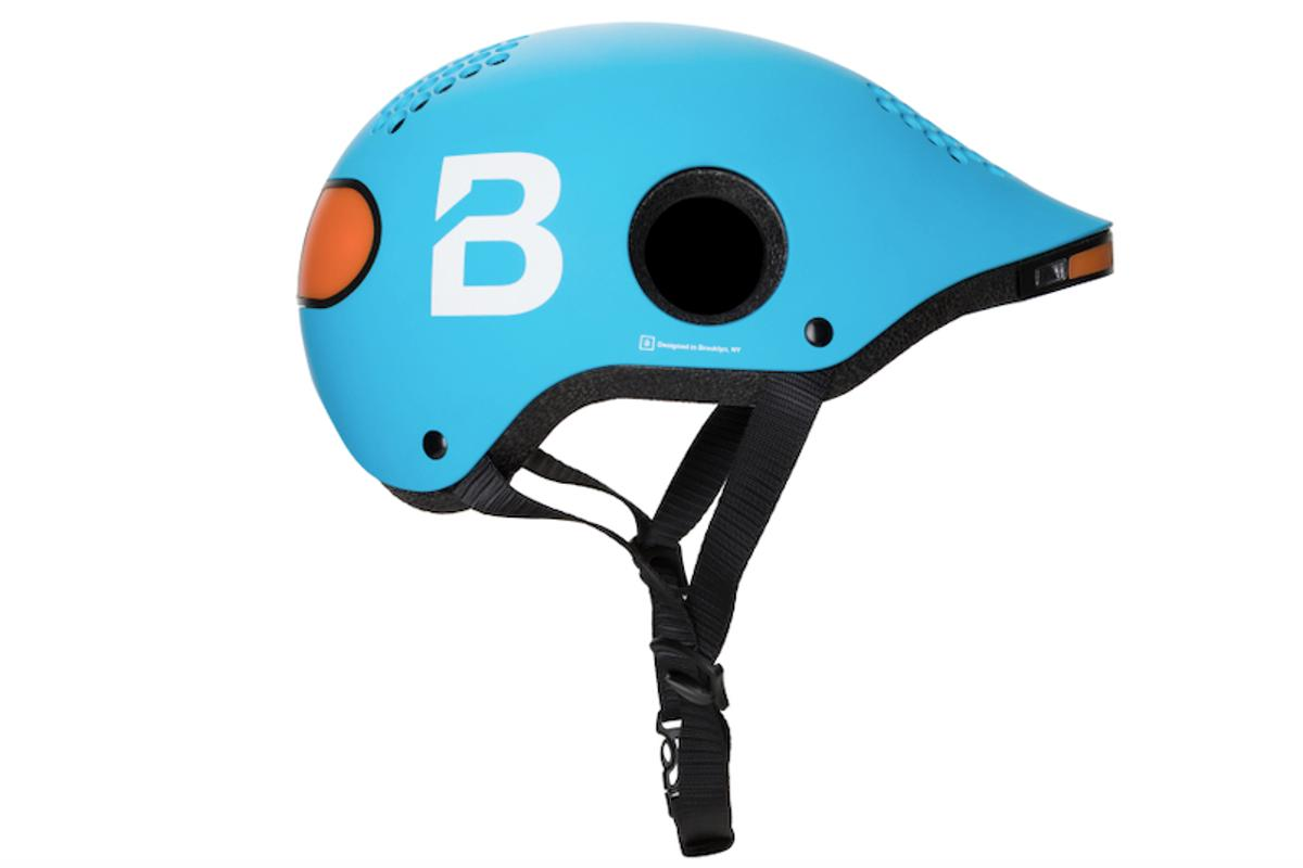For the beta program, the Classon helmet is being offered in color choices of blue, black or white