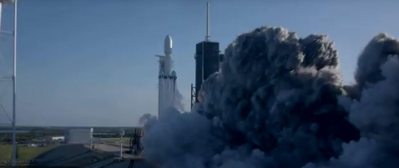 Arabsat-6A lifting off