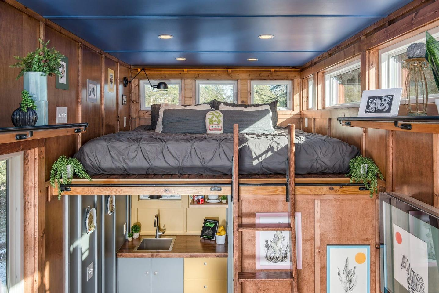 The Cornelia Tiny House, by New Frontier Tiny Homes