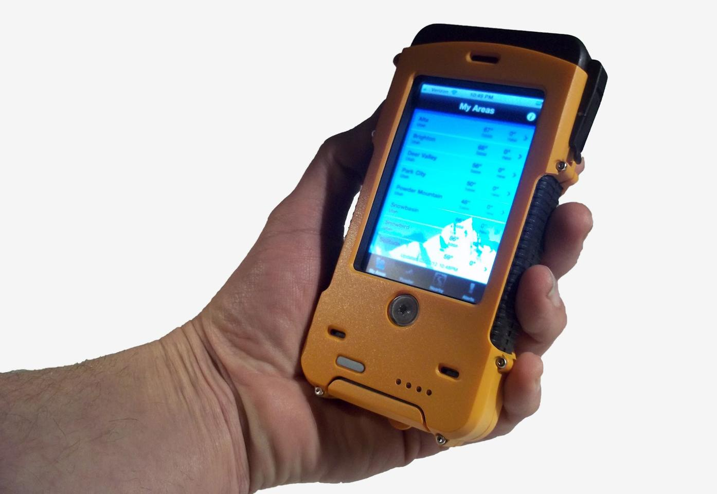 The AQUA TEK S case adds some bulk but is ruggedized, dust resistant and waterproof