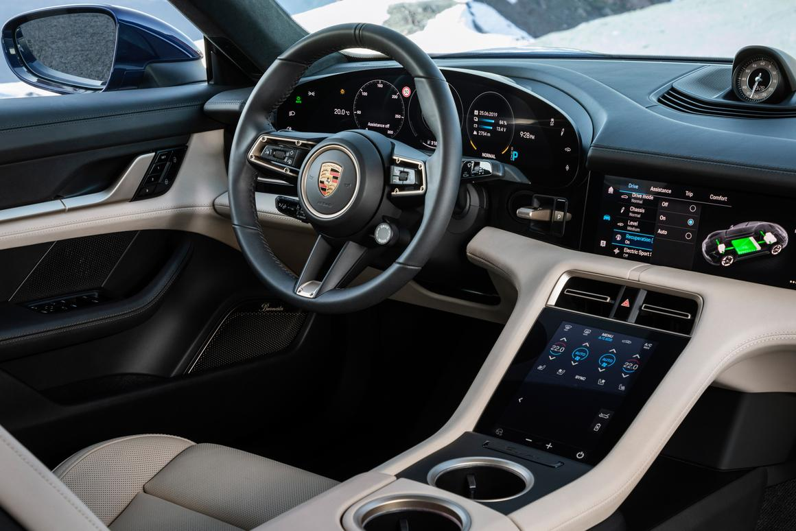 The 800-volt Porsche Taycan Turbos are finally here