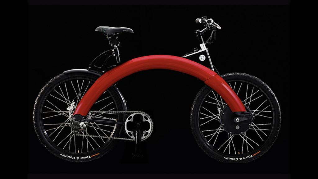 The PiCycle with its distinctive arch frame and option of embedded Wi-Fi technology