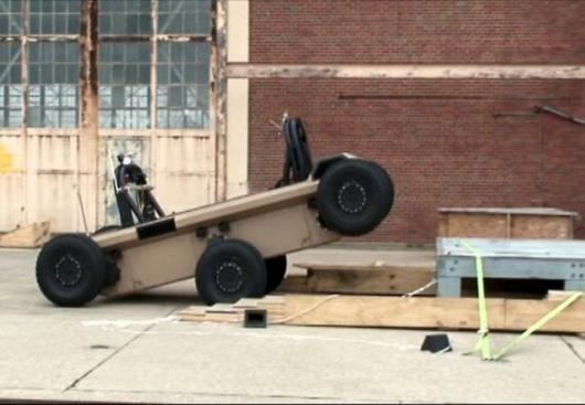 The most sophisticated robotic vehicle yet constructed by Lockheed Martin