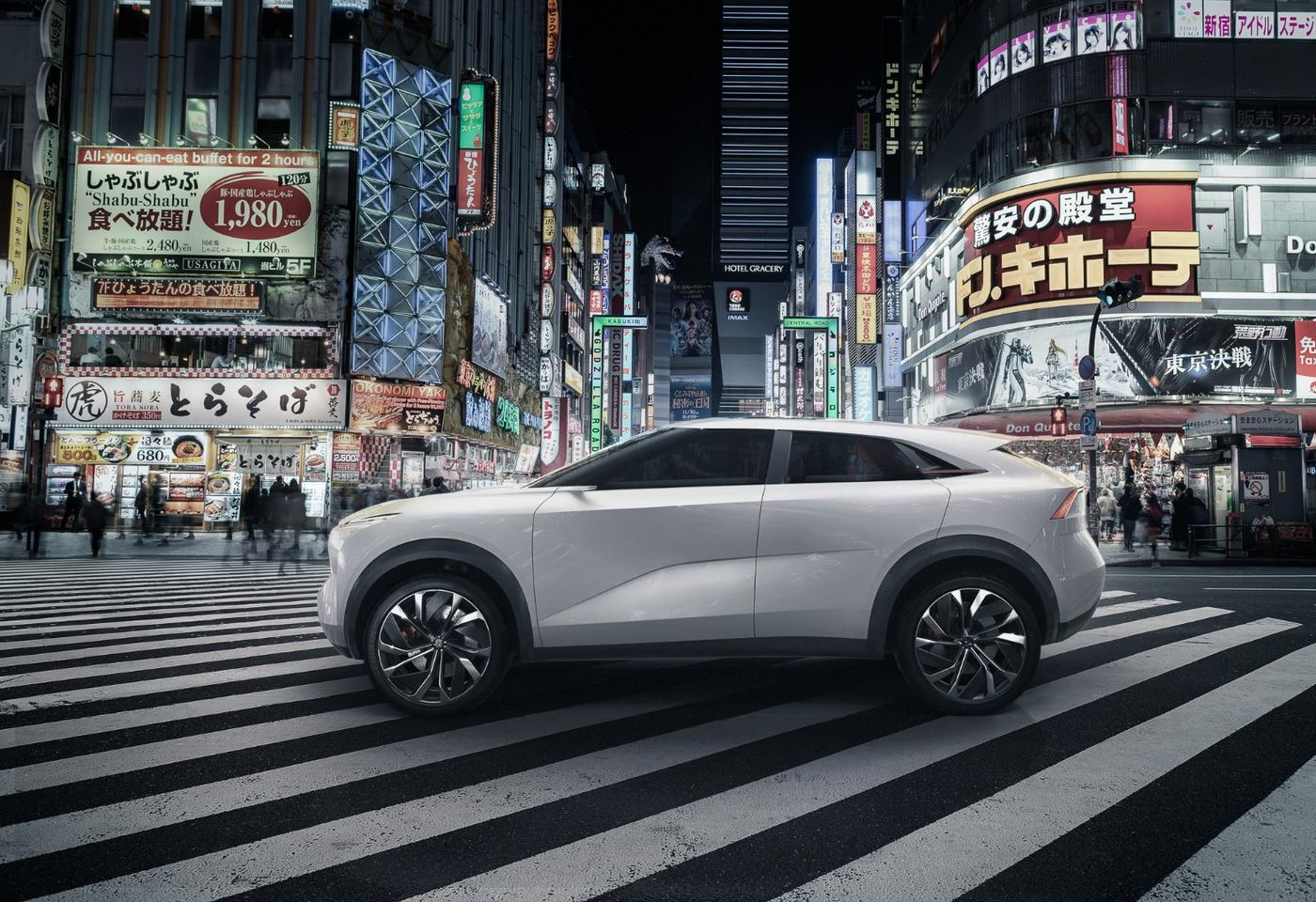 The Infiniti QX Inspiration concept, due to launch next week at NAIAS