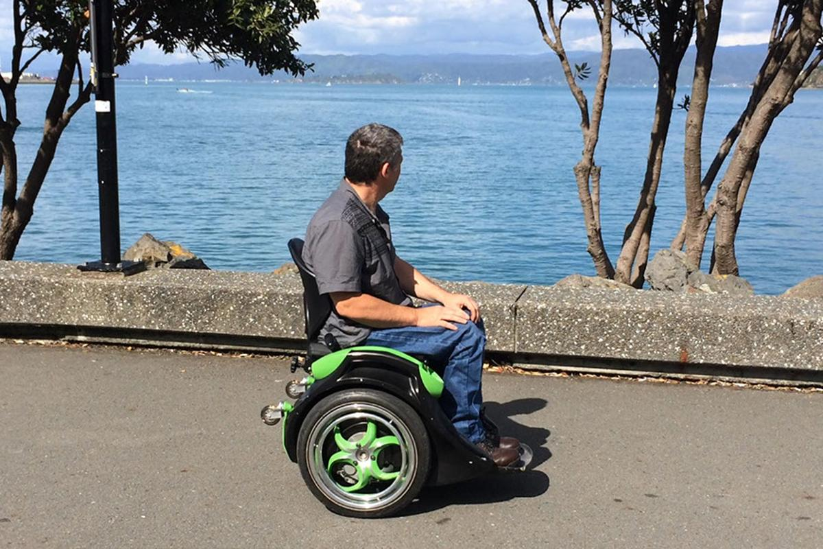 Ogo is a hands-free wheelchair