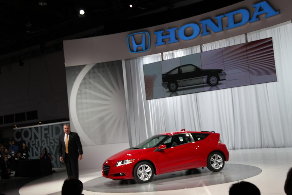 Honda's CR-Z 2010 hybrid