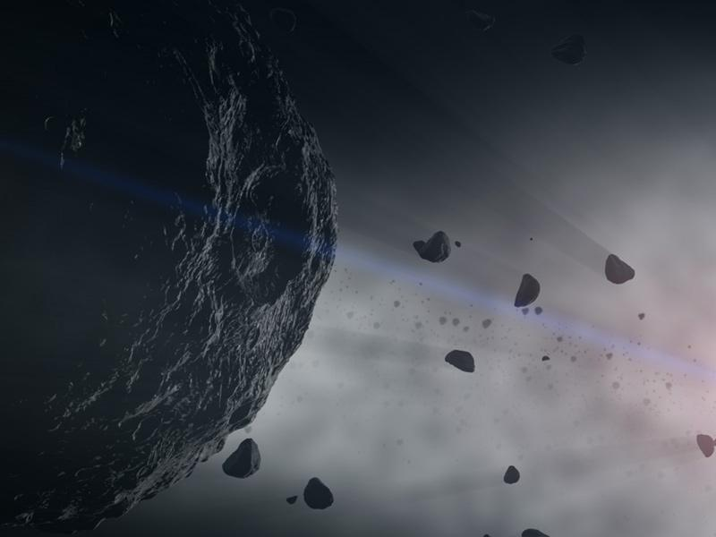 Rotating at faster and faster speeds could cause asteroids like Bennu to shed some of their material