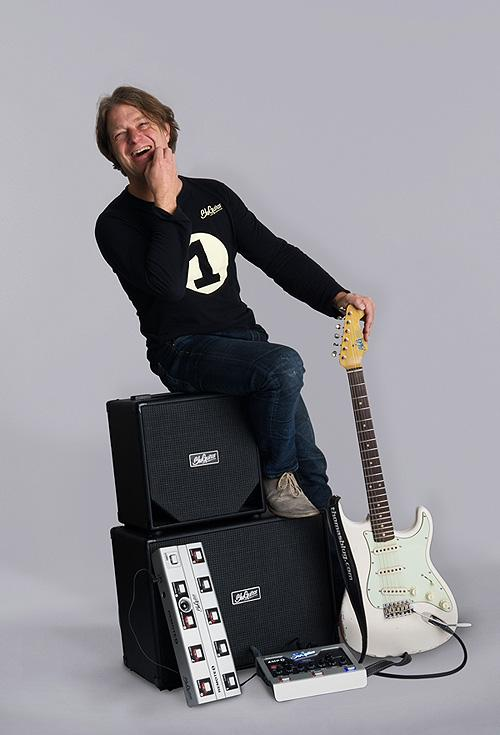 Thomas Blug with the Amp1 System
