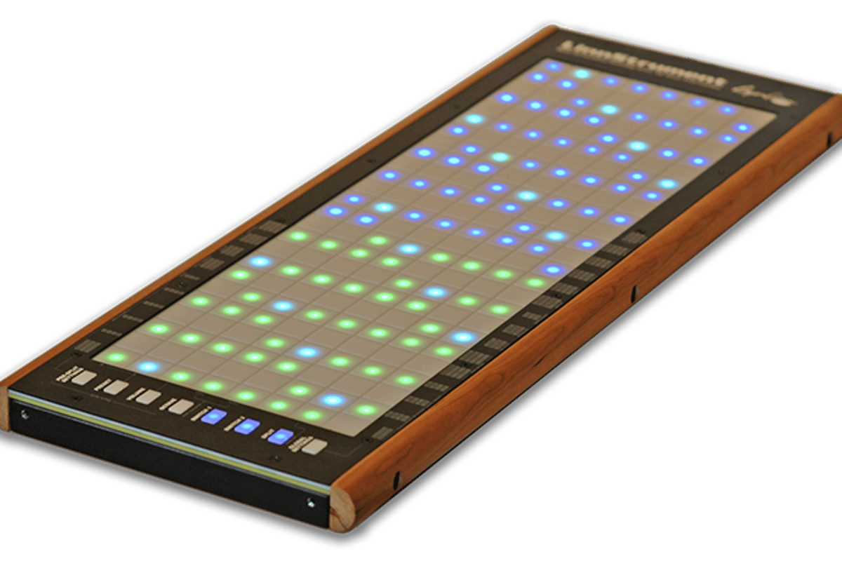 Roger Linn's Linnstrument - part of a wave of new instrument controllers designed to bring instrumental virtuosity back into pop music
