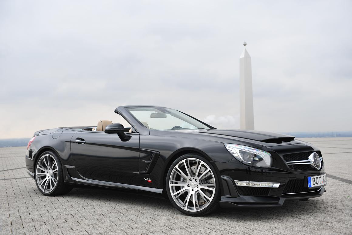 Mercedes' SL 65 AMG gets the Brabus treatment