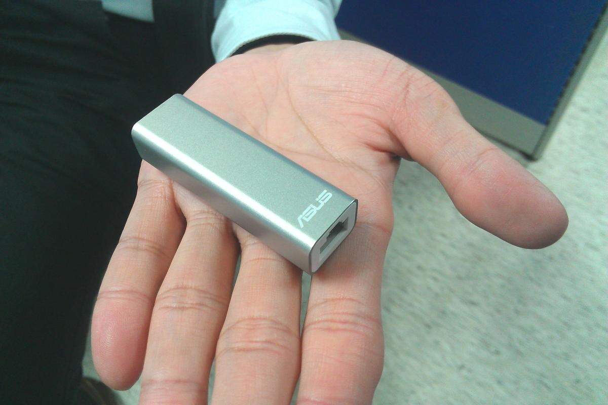 The ASUS WL-330NUL Pocket Router