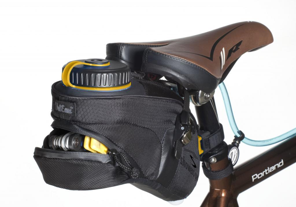 The VelEau's reservoir pack does offer some storage capacity for items such as tools
