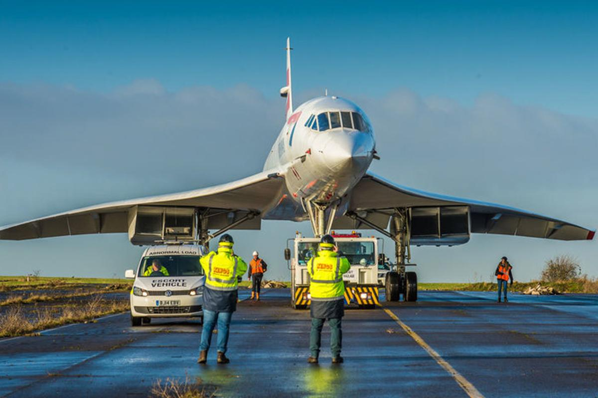 British Airways' Concorde Alpha Foxtrot was the last Concorde to be built and the last to fly
