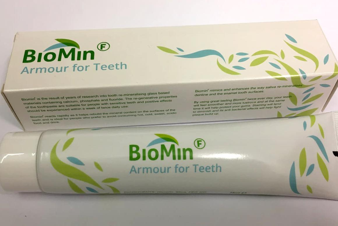 The new toothpaste aims to tackle dental decay through a slow release of calcium, phosphate and fluoride ions