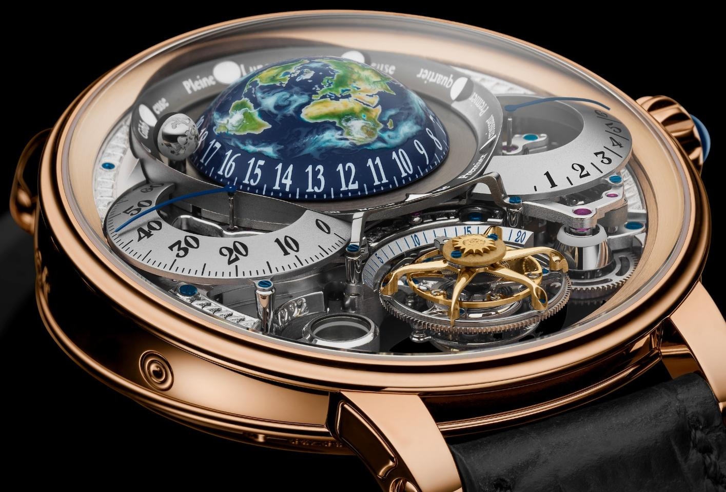 "The Bovet Récital 22 Grand Récital won this year's coveted ""Aiguille d'Or"""