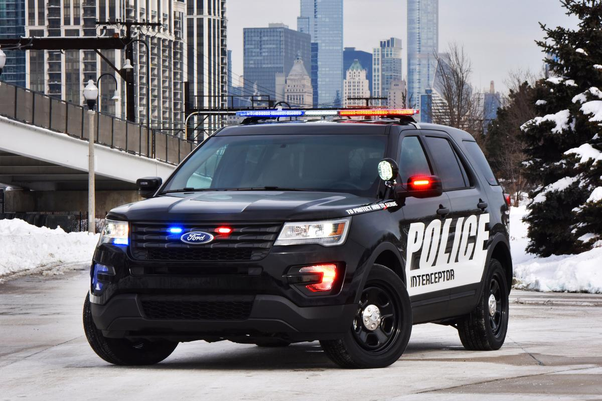 The new all-wheel drive Police Interceptor Utility will be chasing down bad guys later this year