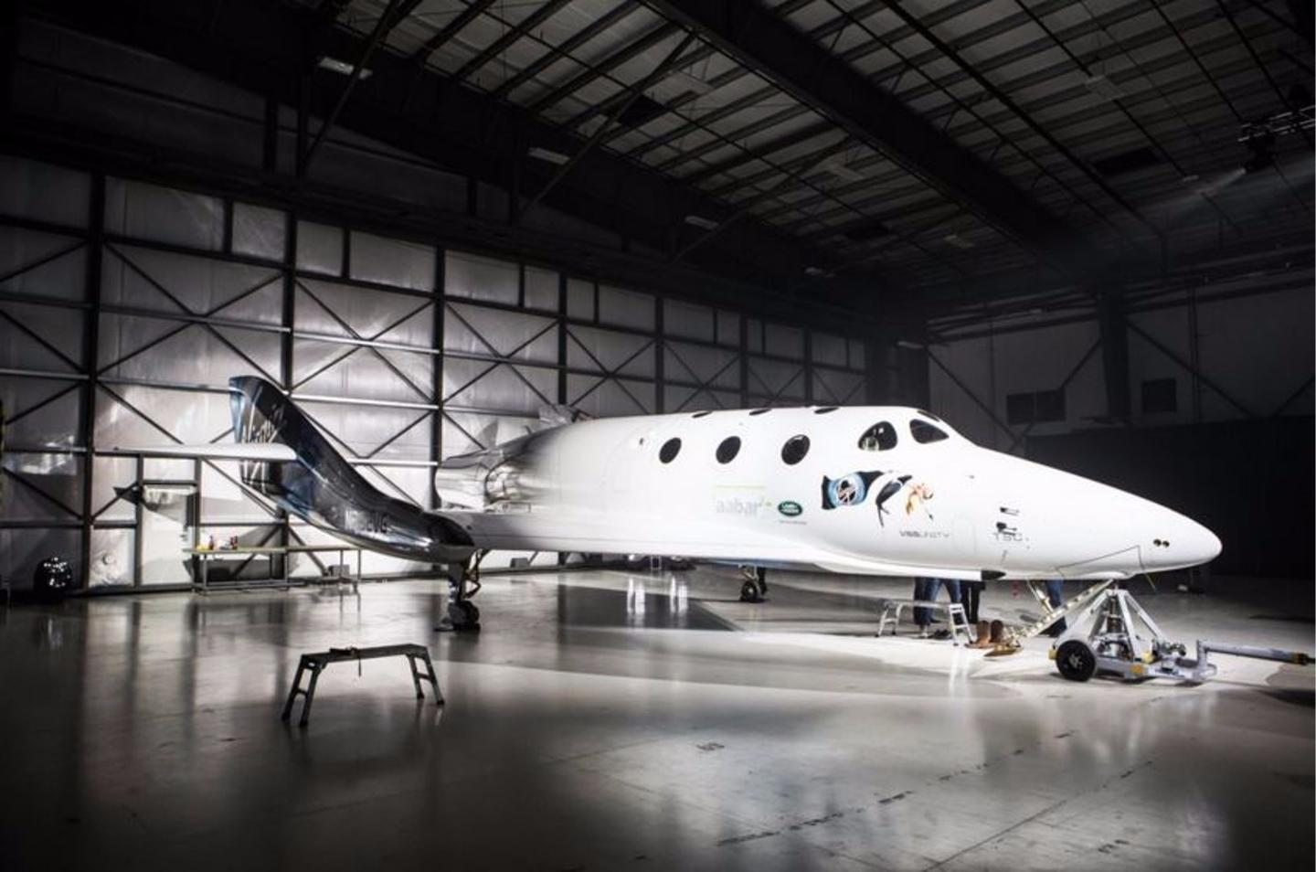 The new spacecraft replaces the previous SpaceShipTwo, which was lost in a test flight accident