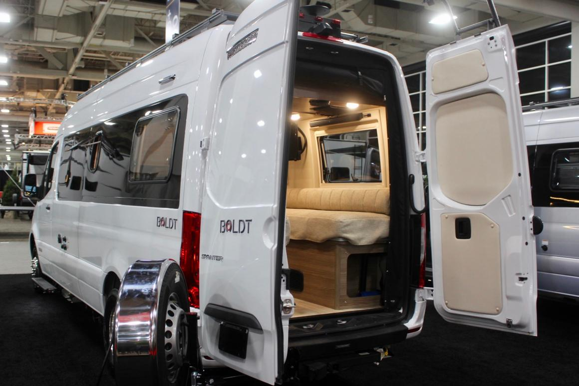 Winnebago turns new Mercedes Sprinter into adventurous