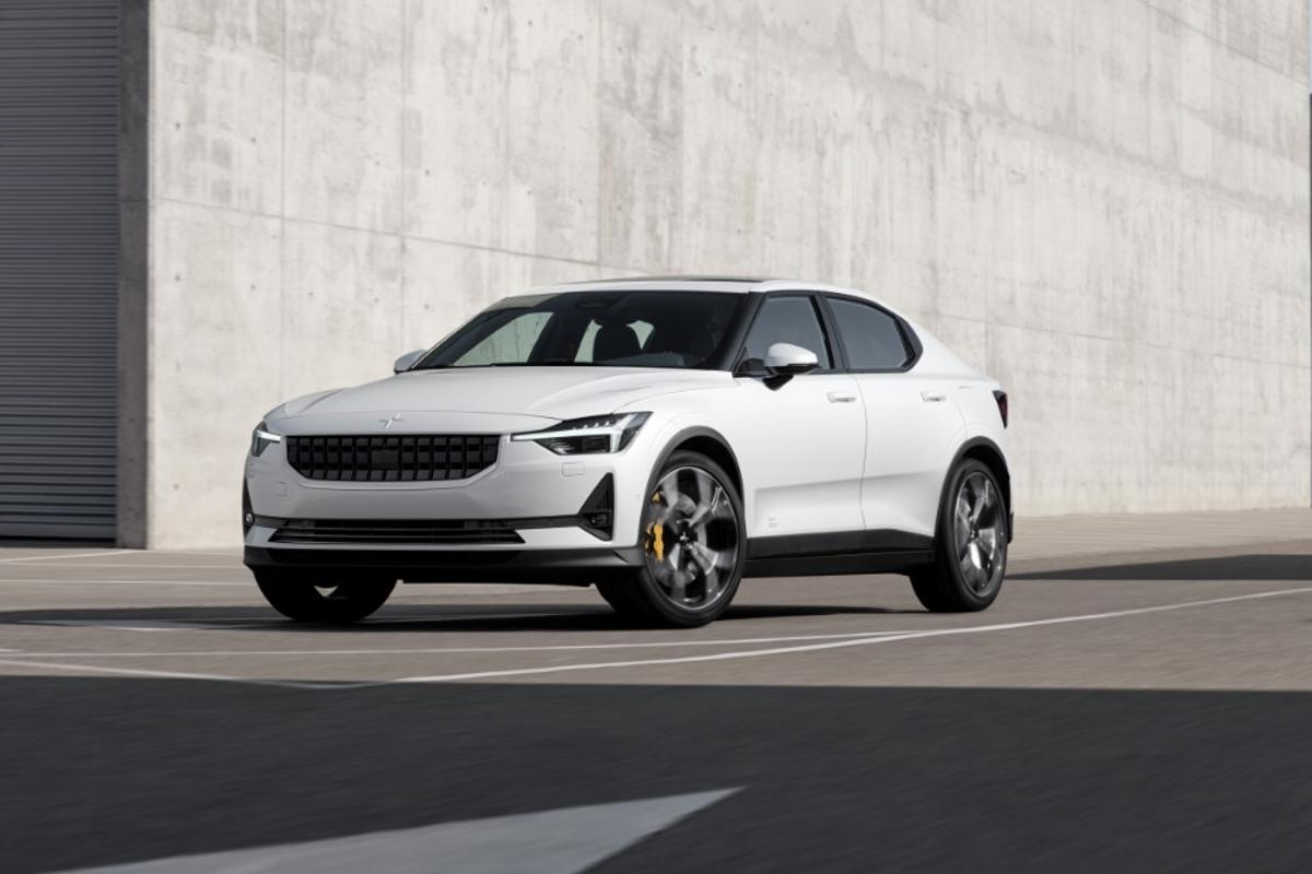 The Polestar 2 puts out 408 hp and 487 lb-ft