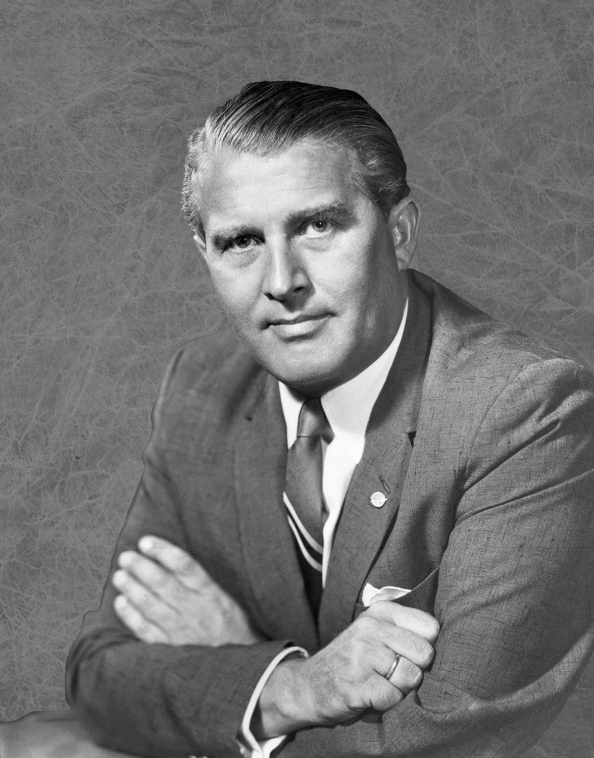 The Man Will Conquer Space Soon! auction includes signed technical sketches by rocket technology and space science pioneer Wernher von Braun