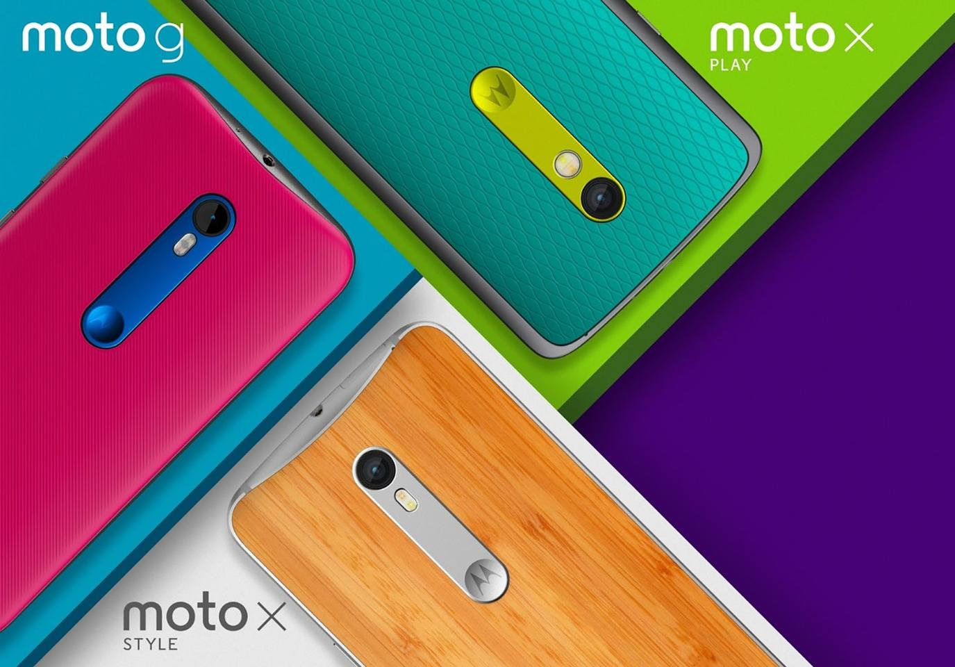 The Motorola smartphone line-up for 2015
