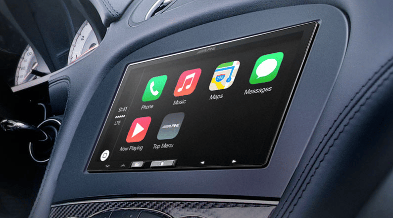 Alpine's new iLX-007 is the company's first to feature Apple's CarPlay technology