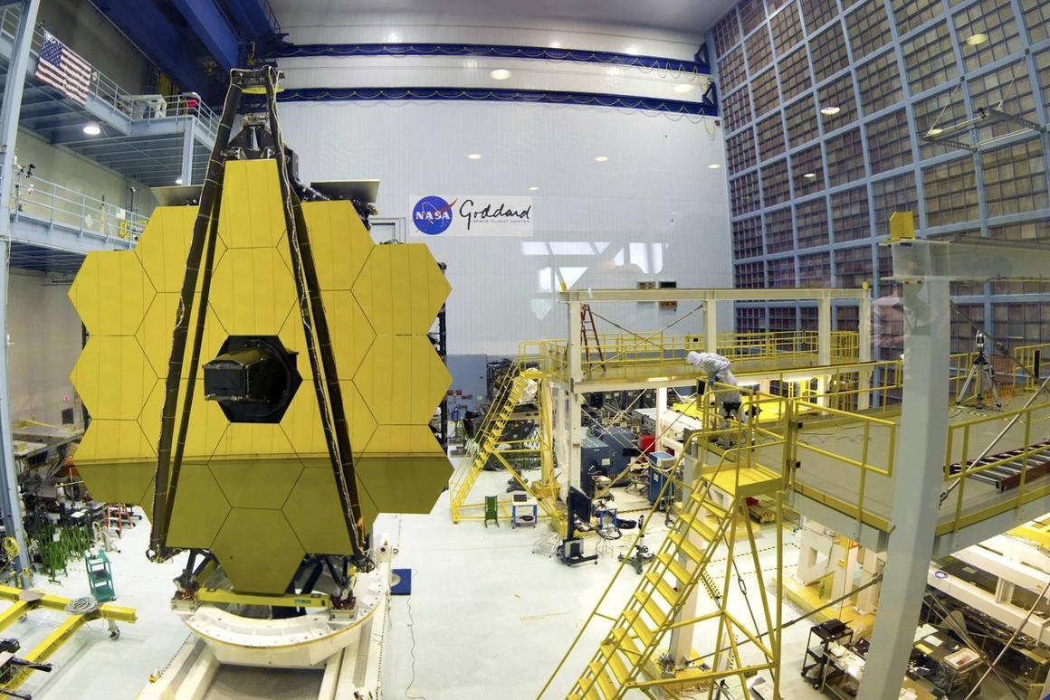 The James WebbSpace Telescope will launch on ESA's Ariane 5 rocket in 2018