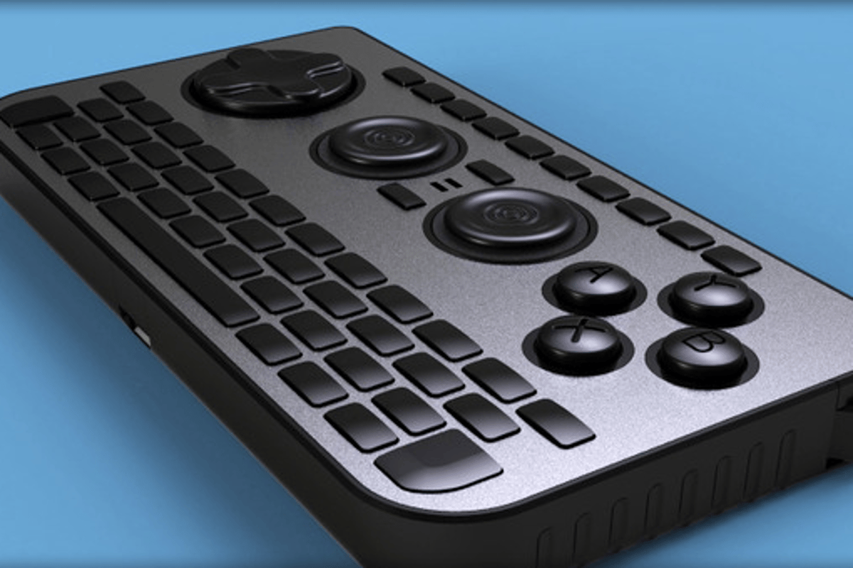 The iControlPad2 is open-source, Bluetooth compatible, has a full keyboard and tons of gaming inputs