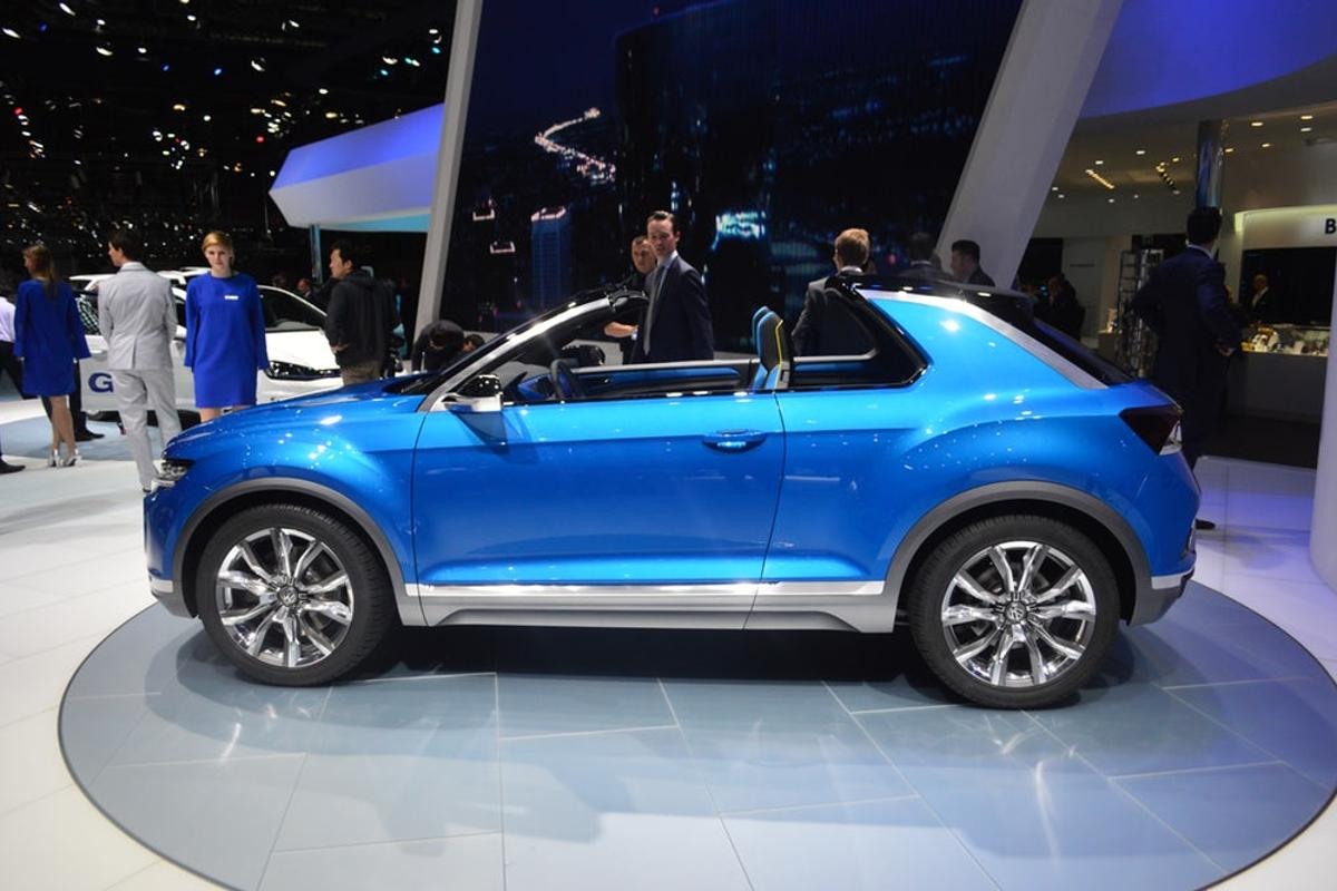 VW T-Roc Concept debut at the 2014 Geneva Motor Show