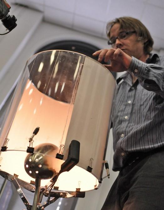 Jaime Oliver and his Silent Drum