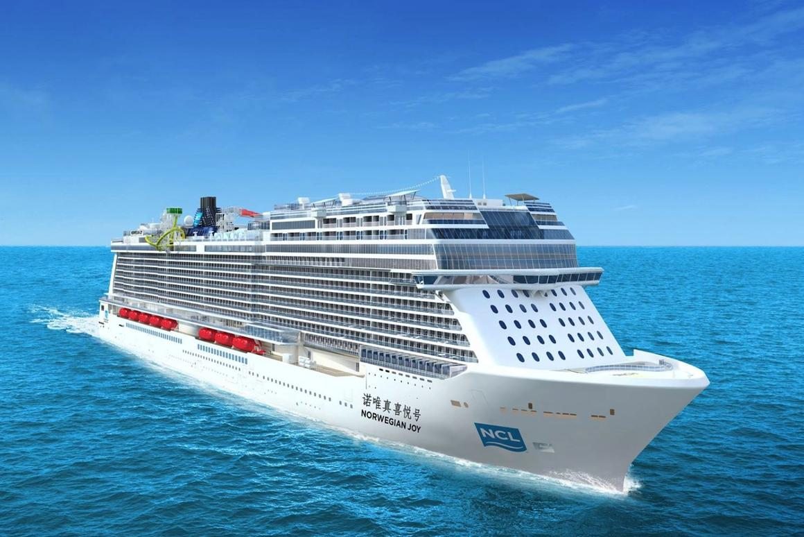 The Norwegian Joy is being readied for Summer 2017