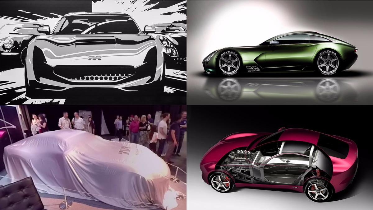 Under development for four years, the aboveare the only images yet released by TVR