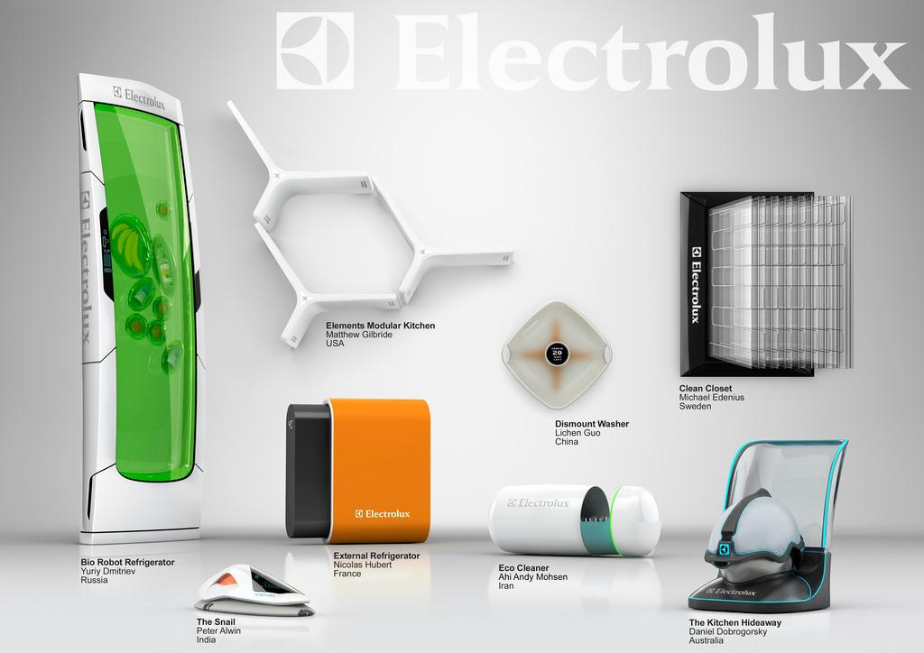 The finalists in the Electrolux Design Lab 2010 competition have had their design concepts showcased in video form