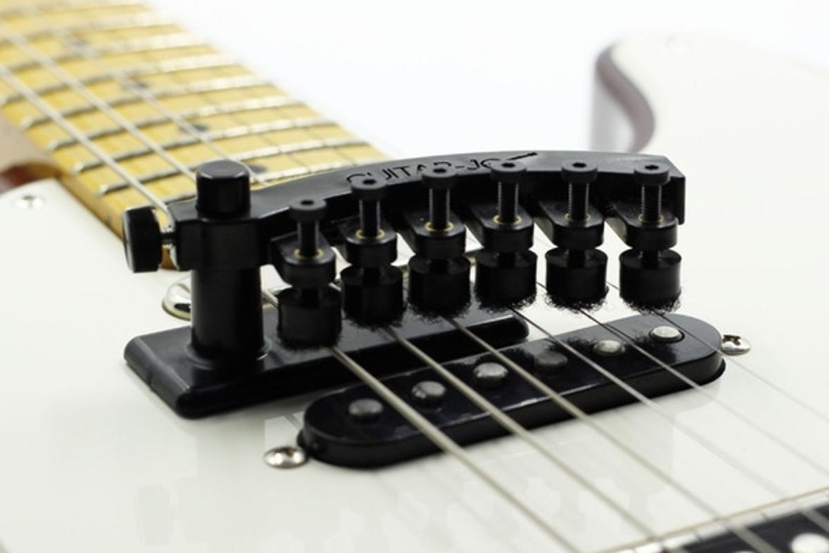 The Guitar-Jo 2 string dampener is currently raising production funds on Kickstarter