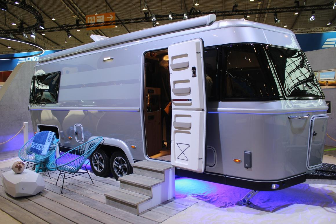 Eriba adds smarts to its all-new flagship Touring 820