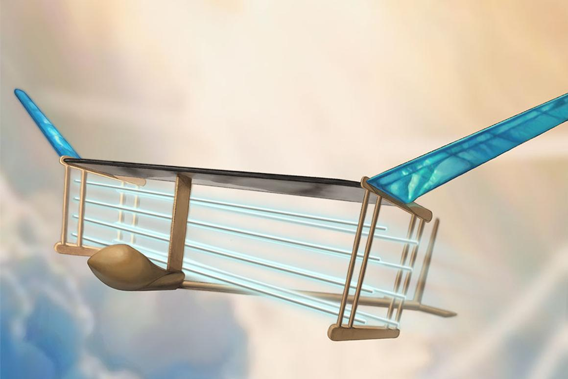 A new MIT plane is propelled via ionic wind