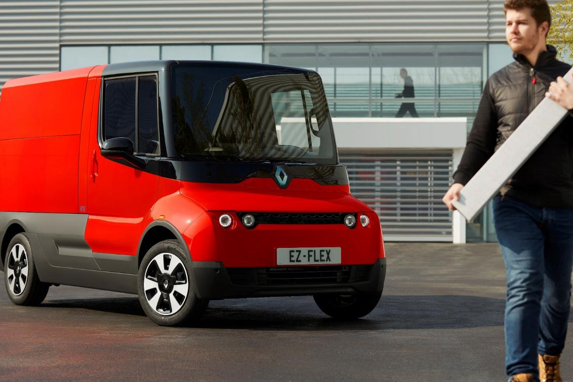 The EZ-Flex is a rolling experimental platform that Renault will put in the hands of professionals, companies, cities and municipalities in Europe over the next 2 years for real-world testing