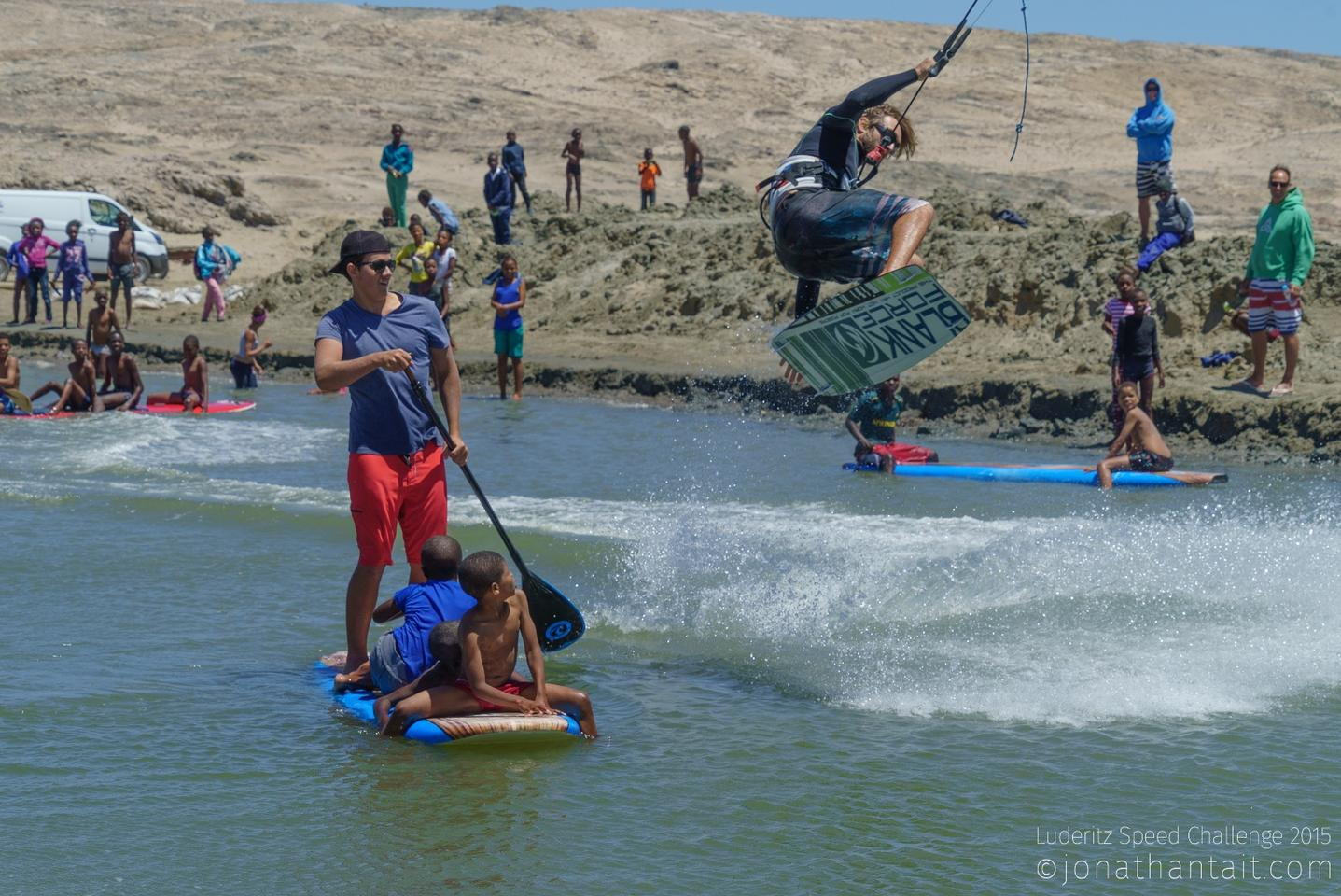 The Lüderitz Speed Challenge is all kinds of fun for attendees