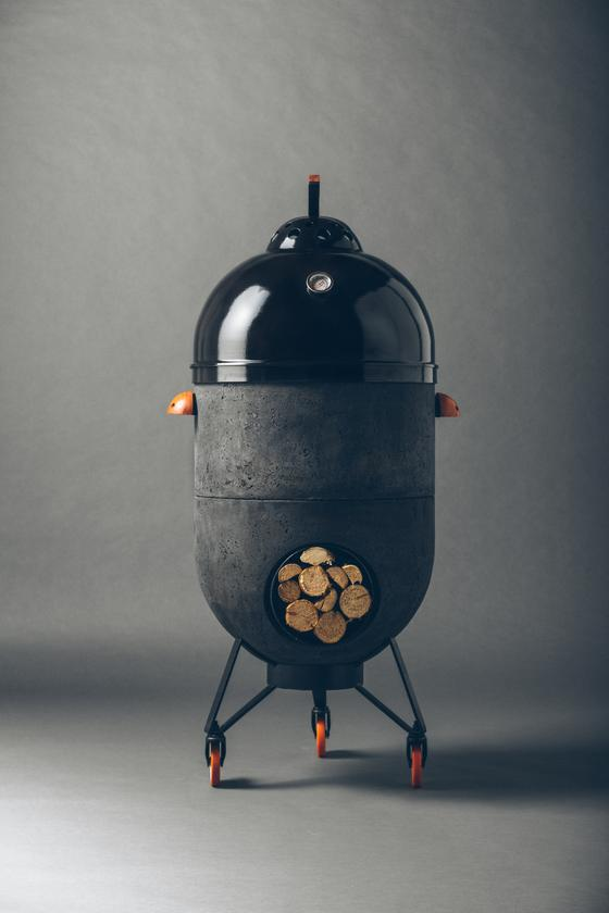 Three Brazilian designers have joined forces to create a four-in-one rocket stove