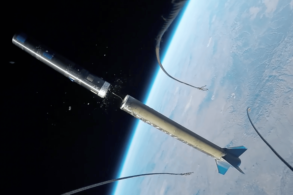 GoPro posted footage of a rocket launch on its YouTube page this morning