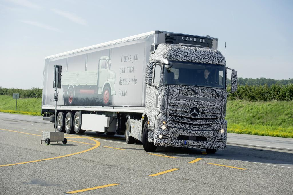 The system uses a radar sensor positioned just ahead of the rear axle