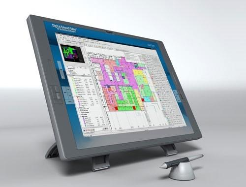 The On Center Digital Takeoff Table - estimators currently using On Center's software are forecasting an additional productivity increase of 25 percent with the new system.