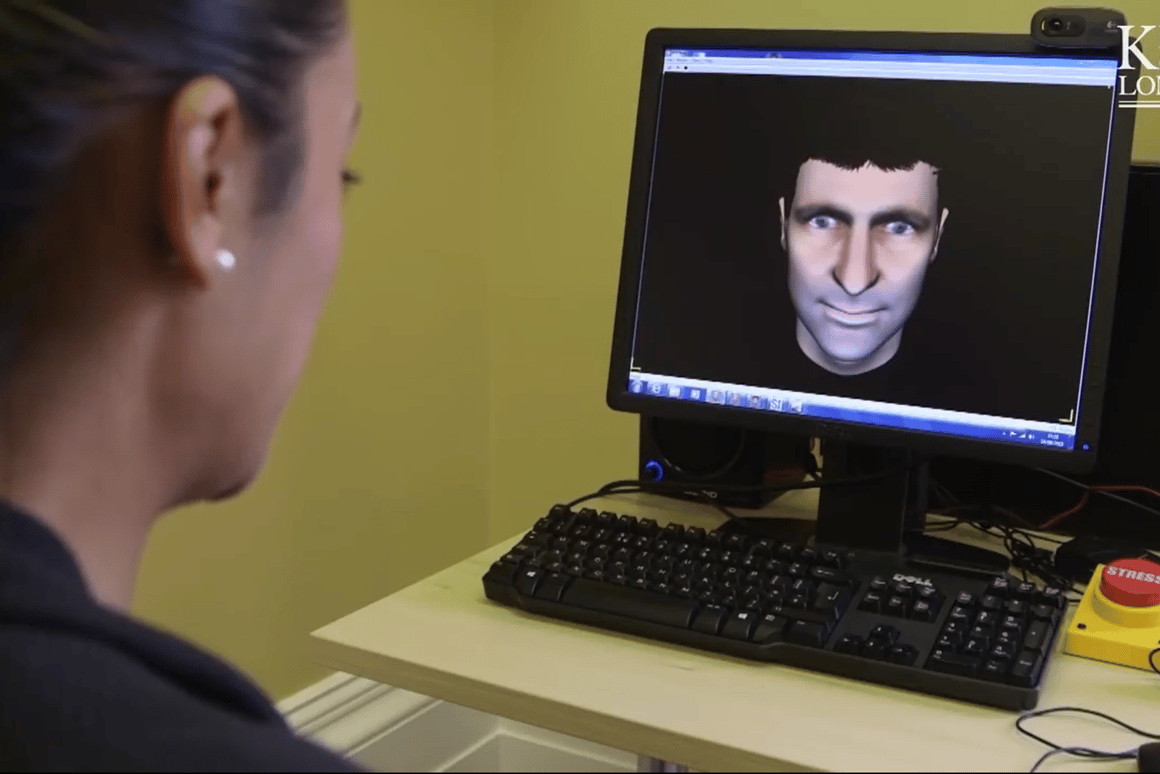 Avatar therapy consists of a schizophrenic patient coming face-to-face with a visual representation of the voices in their head